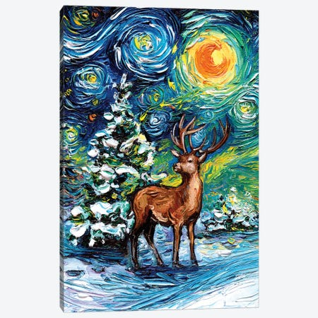 Silent Night Canvas Print #AJT288} by Aja Trier Canvas Art Print