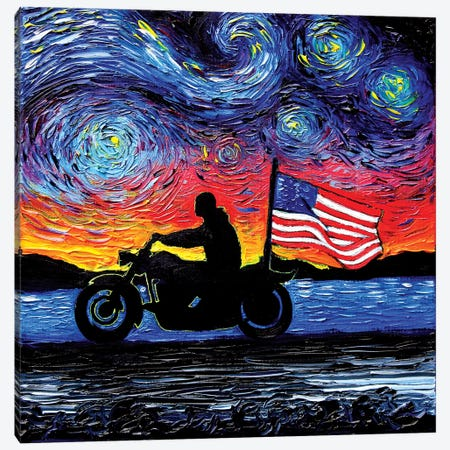Easy Rider Canvas Print #AJT28} by Aja Trier Canvas Print