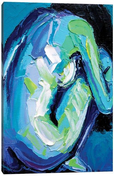 Femme CXIV Canvas Art Print
