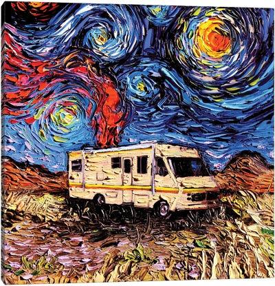 Van Gogh Never Met Heisenberg Canvas Art Print