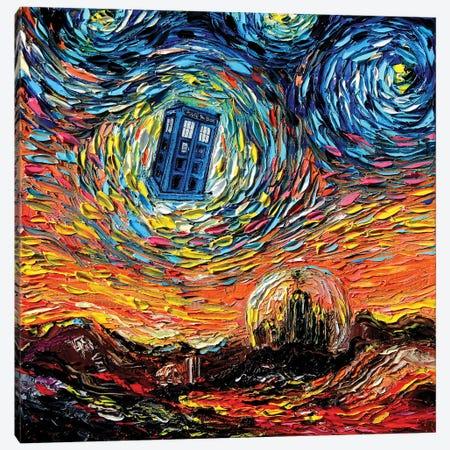 van Gogh Never Saw Gallifrey Canvas Print #AJT404} by Aja Trier Canvas Art