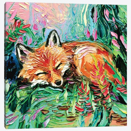 Kit Canvas Print #AJT40} by Aja Trier Canvas Print