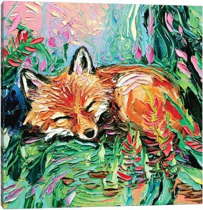 Kit Canvas Art Print
