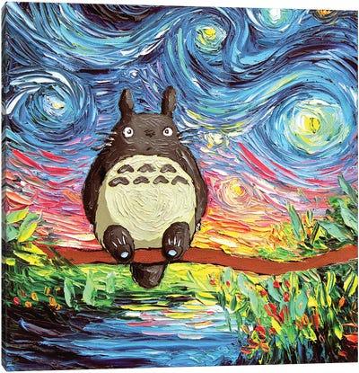 Van Gogh Never Met His Neighbor Canvas Art Print