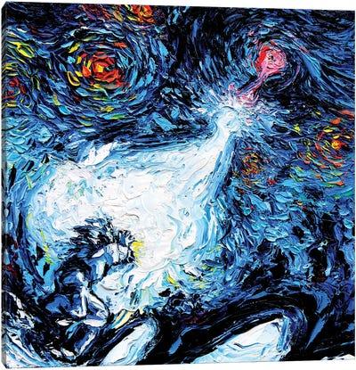 Van Gogh Never Reached A Power Level 9000 Canvas Art Print