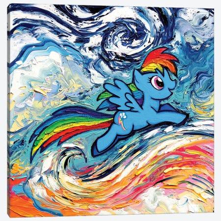 Van Gogh Never Saw Cloudsvale Canvas Print #AJT417} by Aja Trier Canvas Art Print