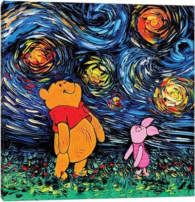 Van Gogh Never Saw Hundred Acre Wood Canvas Art Print