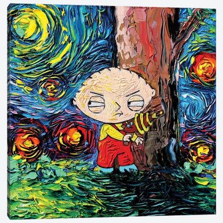 Van Gogh Never Saw Quahog Canvas Print #AJT419} by Aja Trier Canvas Wall Art