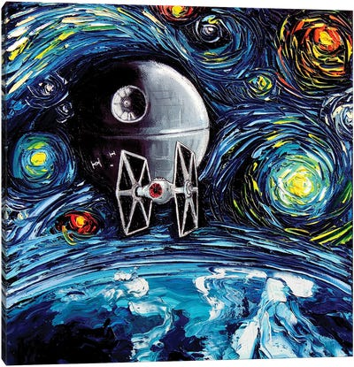 Van Gogh Never Saw The Empire Canvas Art Print