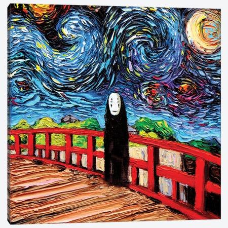 Van Gogh Was Never Spirited Away Canvas Print #AJT424} by Aja Trier Canvas Wall Art