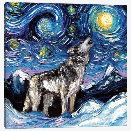 Lupine Night Canvas Print #AJT42} by Aja Trier Canvas Print
