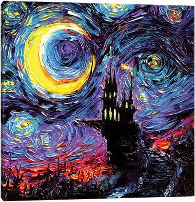 The Haunting Of Van Gogh Canvas Art Print