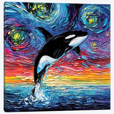 Van Gogh Never Saw Alaska Canvas Print #AJT69} by Aja Trier Canvas Print
