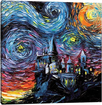 Van Gogh Never Saw Hogwarts Canvas Art Print