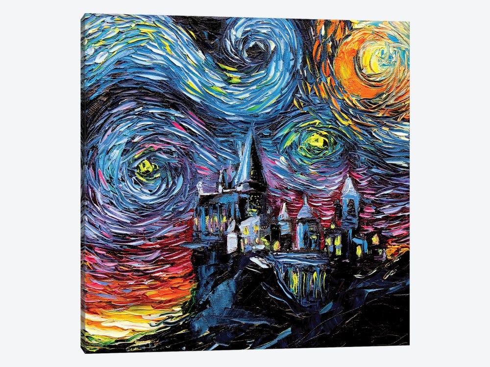 Van Gogh Never Saw Hogwarts by Aja Trier 1-piece Canvas Artwork