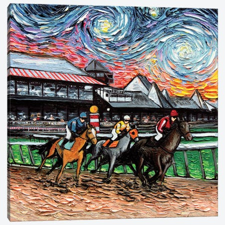 Van Gogh Never Saw Saratoga Canvas Print #AJT74} by Aja Trier Art Print