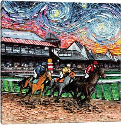Van Gogh Never Saw Saratoga Canvas Art Print