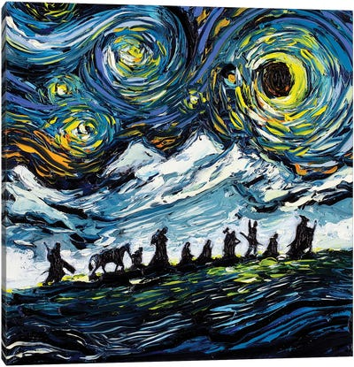 Van Gogh Never Saw The Fellowship Canvas Art Print