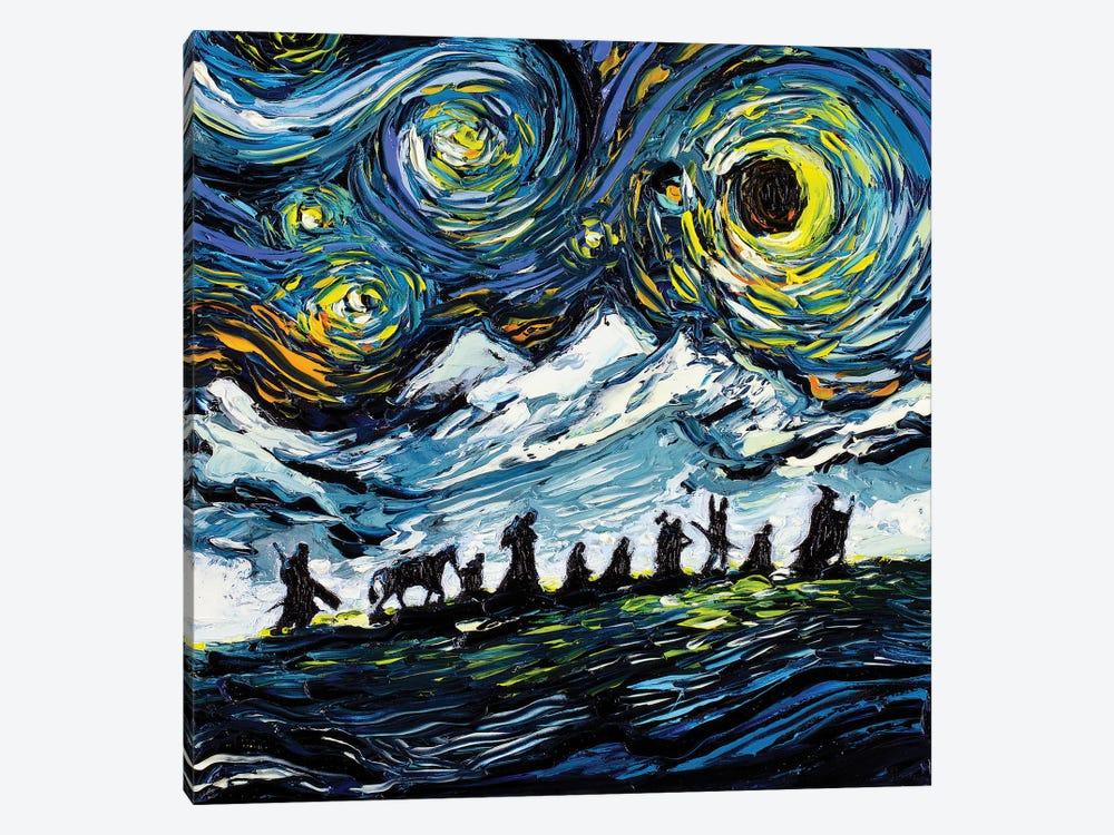 Van Gogh Never Saw The Fellowship by Aja Trier 1-piece Canvas Print