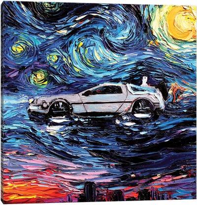 Van Gogh Never Saw The Future Canvas Art Print