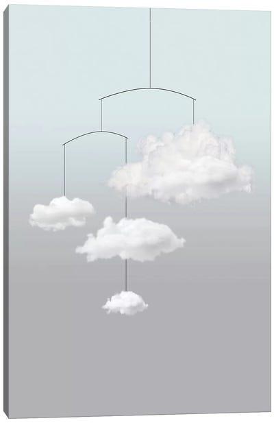 Cloud Mobile Canvas Art Print