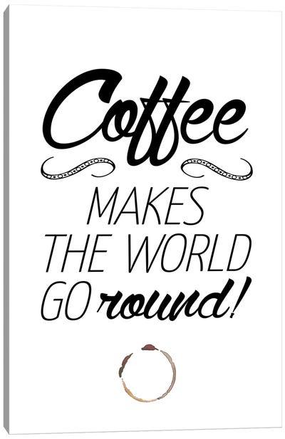Coffee Canvas Art Print