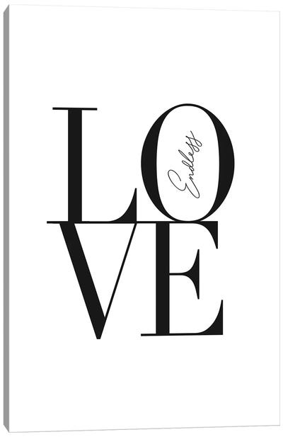 Endless Love Canvas Art Print
