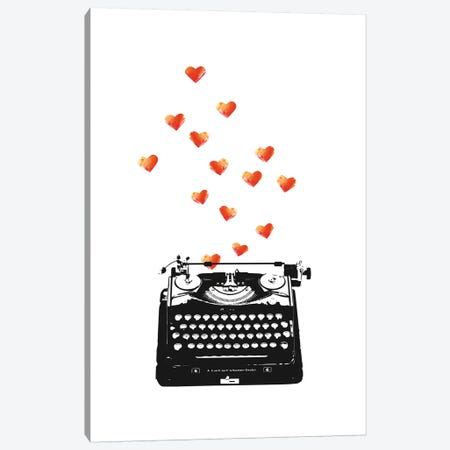 Loveletter Canvas Print #AKB21} by Amy & Kurt Berlin Canvas Art