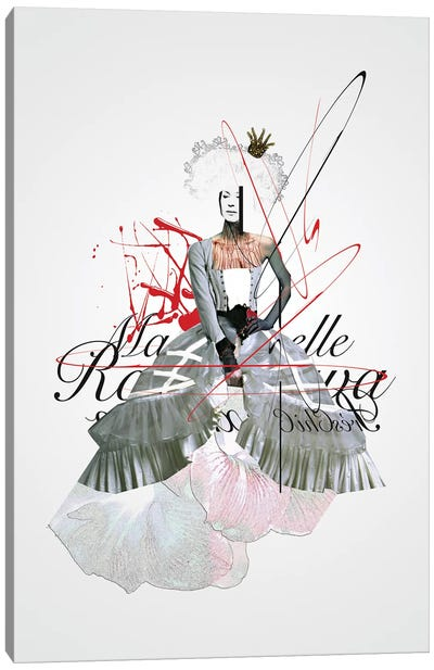 Mademoiselle Canvas Art Print