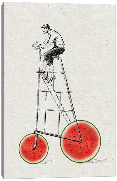 Melon Bike Canvas Art Print