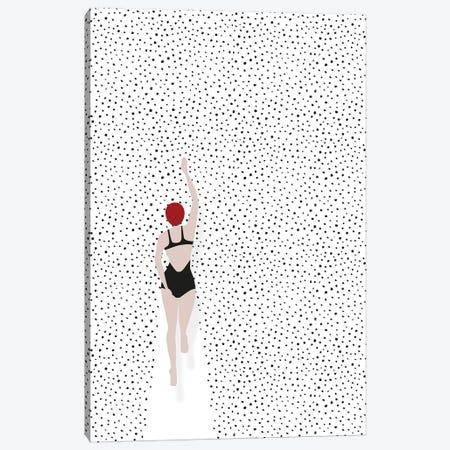 Swimming Points Canvas Print #AKB32} by Amy & Kurt Berlin Canvas Art Print