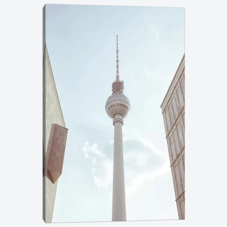 TV Tower Berlin Canvas Print #AKB33} by Amy & Kurt Berlin Canvas Print