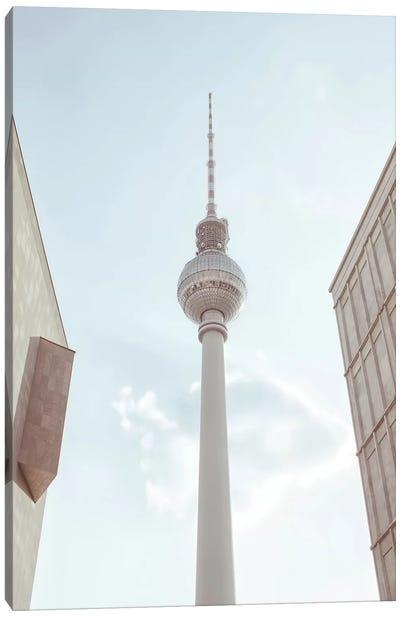 TV Tower Berlin Canvas Art Print