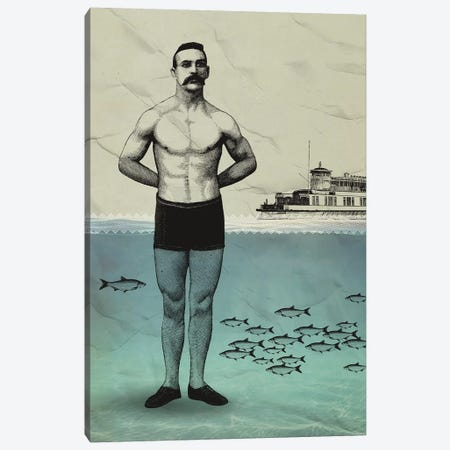 Beachboy Canvas Print #AKB4} by Amy & Kurt Berlin Canvas Art