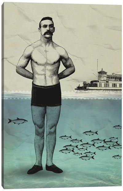 Beachboy Canvas Art Print