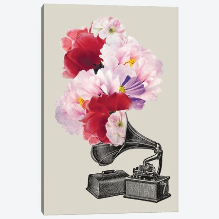 Blumophon Canvas Print #AKB7} by Amy & Kurt Berlin Canvas Artwork