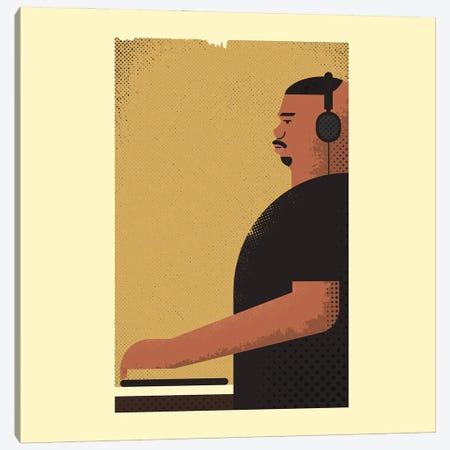 DJ Screw Turntables Canvas Print #AKC17} by Amer Karic Canvas Print