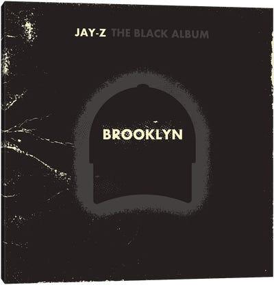 Jay Z The Black Album Canvas Art Print