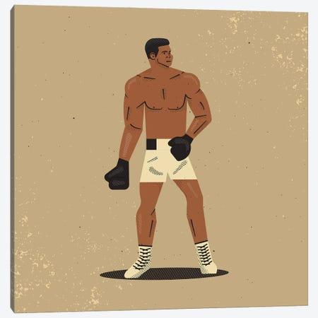 Muhammad Ali Canvas Print #AKC35} by Amer Karic Art Print