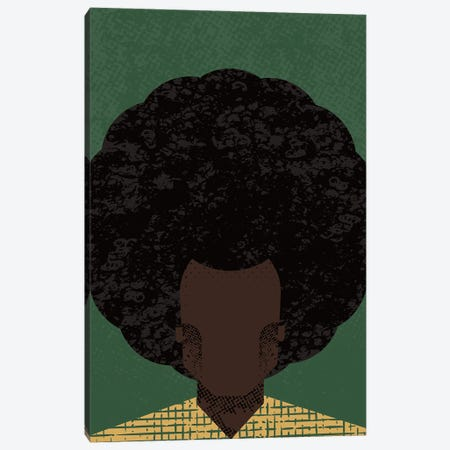 Afro Canvas Print #AKC3} by Amer Karic Canvas Art