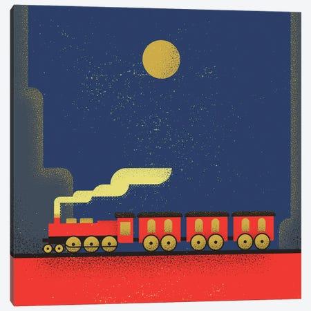Train Canvas Print #AKC52} by Amer Karic Canvas Art
