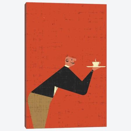 Waiter Canvas Print #AKC55} by Amer Karic Canvas Print