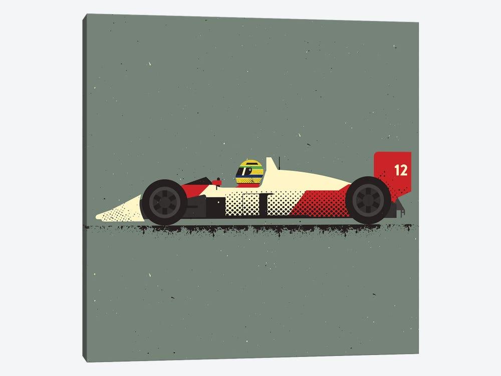 Ayrton Senna by Amer Karic 1-piece Canvas Artwork