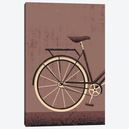 Vintage Bike Canvas Print #AKC61} by Amer Karic Art Print