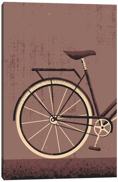 Vintage Bike Canvas Art Print