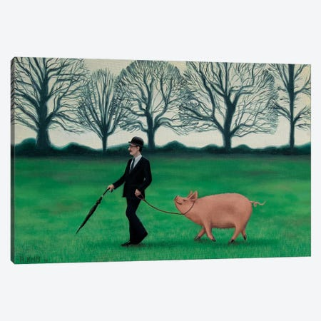 In England Canvas Print #AKE12} by Antoinette Kelly Canvas Artwork