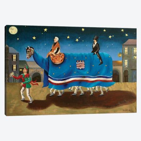 La Danse du Poulain Canvas Print #AKE15} by Antoinette Kelly Canvas Art Print