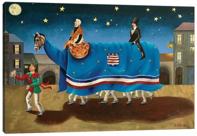 La Danse du Poulain Canvas Art Print