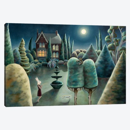 Nocturnal Wanderings Canvas Print #AKE19} by Antoinette Kelly Canvas Wall Art
