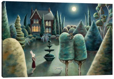 Nocturnal Wanderings Canvas Art Print